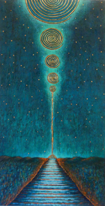 Spiraling Moons Transition by Jane Cassidy