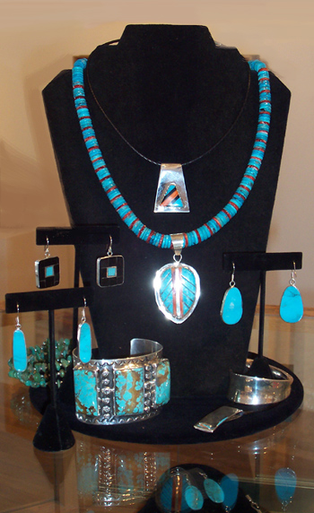 Jewelry at Indigo Gallery